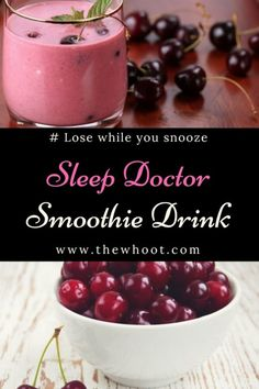 Watch video ~ Fat Burning Drinks really work! You can sleep yourself slim and lose unwanted belly fat fast. Lose while you snooze! Diet Drinks, Smoothie Drinks, Smoothie Diet, Smoothie Recipes, Beverages, Smoothie Ingredients, Banana Protein Smoothie, Cherry Smoothie, Apple Smoothies