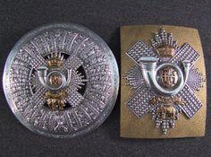 HLI – Captain A.C. GRANT. Highland Light Infantry Officer's plaid brooch and Cross Belt Plate, £1,350