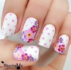 White nails are often deemed as boring. Why paint your nails with a color that… White Nail Art, White Nails, Fabulous Nails, Gorgeous Nails, Nail Art Harry Potter, Nail Designs Spring, Nail Art Designs, Nails Design, Nail Swag