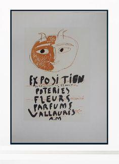 Pablo Picasso Vintage Print - Original Lithograph 1959 – Art & Vintage Store Ltd
