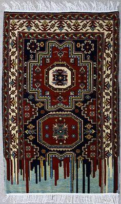 Faig Ahmed carpet