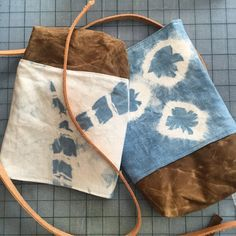New shibori day bags on their way to the shop this week! Two still in stock! New year, new bag!