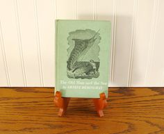 Vintage Book The Old Man and the Sea School Edition Ernest Hemingway Classic Literature American Literature Mid Century Literature by HipCatRetroVintage on Etsy