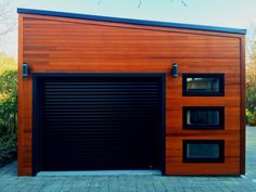 Urban garage garage design 16x20 with planed cedar channel siding in urban garage garage design with planed cedar channel siding in scarborough ontario id number solutioingenieria Choice Image