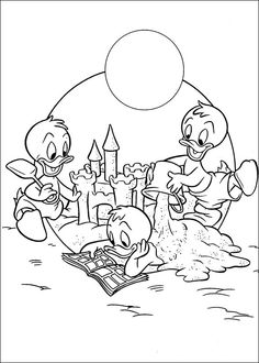 Coloring pages for kids. Family Coloring Pages, Coloring Book Art, Cute Coloring Pages, Coloring Pages For Kids, Coloring Sheets, Adult Coloring, Disney Coloring Pages Printables, Doug Funnie, Disney Colors