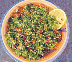 Libańska sałatka tabuli