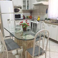 Ficou limpa e organizada  trabalhar mais um pouco até mais tarde  . . . #decasalimpa #cozinha #casaorganizada #lar #tudolimpo #donadecasa