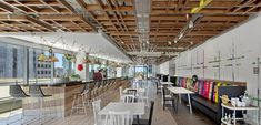 2020 WIN Awards entry: Publicis Groupe - Elkus Manfredi Architects Awards, Canteen, Architects, Home Decor, Decoration Home, Room Decor, Building Homes, Home Interior Design