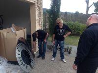 Robert Geiss startet Ausbildung als Schlosser