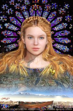 Eleanor of Aquitaine age 20. The Journey East (Book 2 Cover without title permission Mark Richard Beaulieu) www.eleanorofaquitaine.net