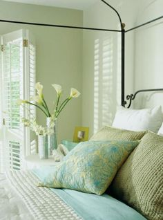 Bedrooms offer a retreat from the stresses of everyday living. Make your bedroom relaxing and refreshing with inspiration from some of our favorites.