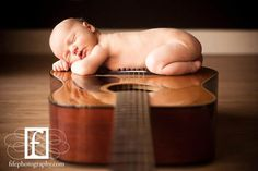 Great use of a parent's interest in their newborn session!