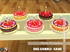 SKC Candle cake at Studio K-Creation • Sims 4 Updates
