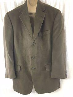 Andrew Fezza Fusion Sport Coat Dark Brown 3 Button Lined Jacket Solid Versatile #AndrewFezza #ThreeButton