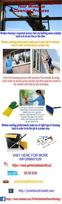 Window cleaning is important process that any building owner probably want to do at one time or the other.Window   washing professionals make use of right type of cleaning tools in order to do the job in a proper way.