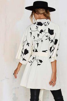In Bloom Kimono Robe - Clothes | Lightweight