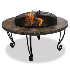 @Overstock - 34-inch Fireplace - This slate fireplace provides 360 degrees of warmth and view. The fireplace brings fun to family and friendly gatherings because of the right warmth it brings to the backyard, patio or pool area.  http://www.overstock.com/Home-Garden/34-inch-Fireplace/7011536/product.html?CID=214117 $165.58