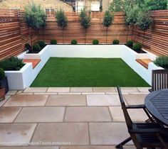 50 Awesome Modern Garden Architecture Design Ideas is part of Garden makeover - With regards to designing a garden, there are two distinct methods of insight about how to do it In any case, the two theories can genuinely be viewed as craftsmanship Read Back Garden Design, Modern Garden Design, Backyard Garden Design, Backyard Patio, Diy Patio, Patio Bench, House Garden Design, Small Garden Landscape Design, Small Backyard Design