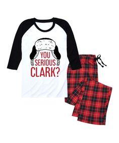 Nap Chat Family Red   Black Buffalo Plaid  You Serious Clark  Pajama Set -  Men 1ed84b686
