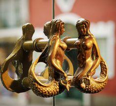 mermaid handles from la sireneuse
