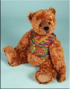 """'Rhett' by Paula Carter 20"""" mohair teddy bear #teddybears #teddy #bear #bears…"""