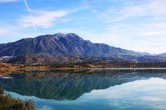 Spain: Lake Vinuela east of Malaga