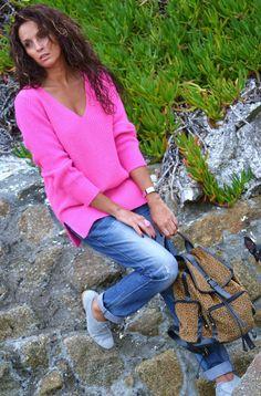 MI VIDA ROSA  , Zara in Sweaters, G-star in Jeans, Zara in Oxfords / Derbies, Blanco in Bags