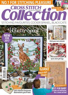Cross Stitch Collection magazine January 2017 issue 270
