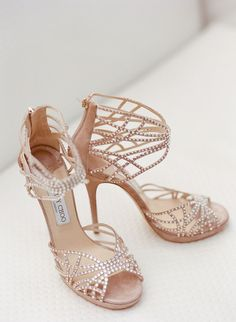 Jimmy Choo Crystal Embellished Sandals