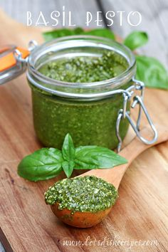 Almond Basil Pesto on MyRecipeMagic.com