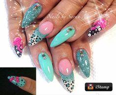 Turquoise et Leopard