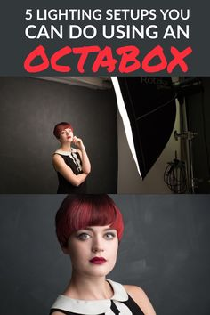 An Octabox can provide great lighting for portraits in a variety of ways. Here are 5 lighting setups you can do with an Octabox.