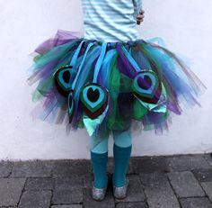 Easy Peasy Peacock Costume