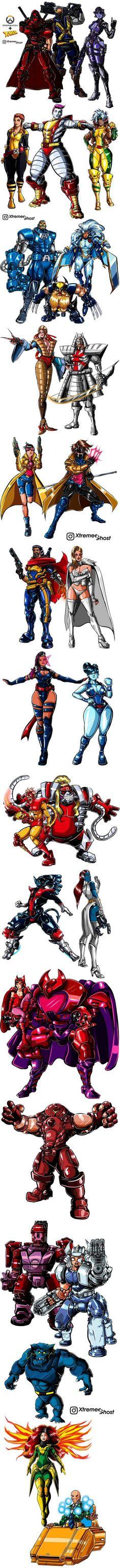 X-Men Overwatch Crossover