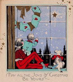 Art Deco Christmas Gift Card