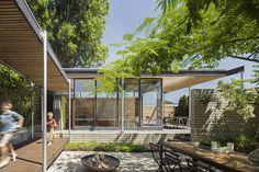 Pavilion backyard next to cottage