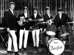 """On this day in The Dave Clark Five made their North American television debut on The Ed Sullivan Show where they performed """"Glad All Over"""". They would later make 18 more appearances, more than any other rock band. The Dave Clark Five, 60s Music, Music Icon, Rogers Drums, The Ed Sullivan Show, Mike Smith, Uk Singles Chart, Thing 1, Rock Groups"""