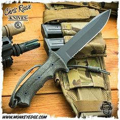 Chris Reeve Knives: Green Beret Knife - 7 Inch