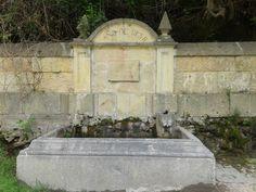 Fuente en el paraje de la Fuencisla (Segovia)