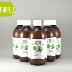 100% GRAVIOLA SAFT -unfiltriert &vegan- Graviola.de