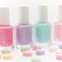 Sweet treats make our heart pitter patter. Shop your favorite essie shades for your Galentine for the perfect mani here: http://www.essie.com/