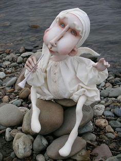 """Авторская кукла """"Ангел"""". Handmade."""