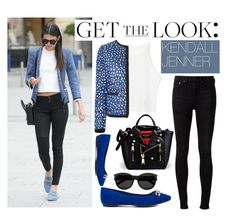 """""""Get The Look: Kendall Jenner"""" by enola123 ❤ liked on Polyvore featuring rag & bone, Moncler, JustFabulous, Yves Saint Laurent, Moschino, GetTheLook and kendalljenner"""