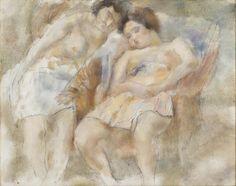 Pascin, Deux dormeuses, 1928 @centrepompidou
