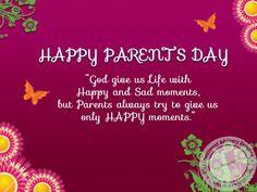 #HappyParentsWorshipDay, Happy parents day