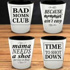 Mom Shot Glass Funny Mom Life Mother Original Gifts New Mama Coworker Friend Birthday Anniversary Gift Glasses Set Mothers Day Christmas Unique Gifts For Mom, Gifts For Your Mom, Funny Shot Glasses, Toddler Pillowcase, Presents For Her, Original Gifts, Glass Material, Funny Mugs, Friend Birthday