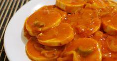 Ingredientes   Para o molho de dendê:  1 xícara de azeite  1 1/2 xícara de molho de tomate