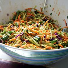 "Asian Coleslaw | ""AMAZING! Probably will add some grilled chicken to this for a main dish."""