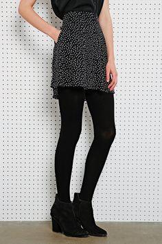 Cooperative Flippy Skirt in Polka Dot