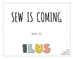 Sew is coming